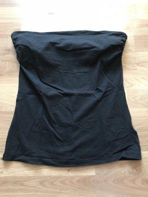 H&M Top a fascia nero