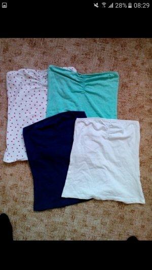 Bandeau-Tops, 4 Varianten