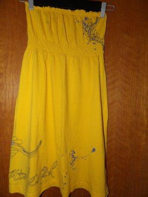 Bandeau Trägerlos Kleid Gr. 34 XS