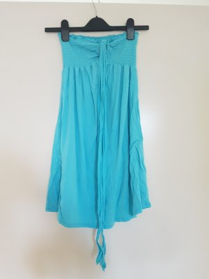 Robe bandeau bleu clair