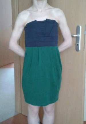 Vila Bandeau Dress dark blue-green