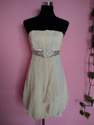 Bandeaukleid in hellbeige (K1)