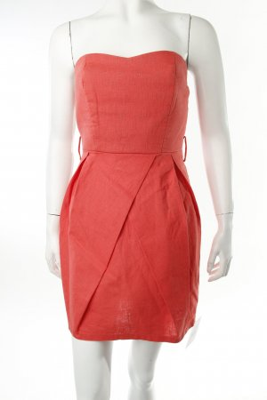 Bandeau Dress salmon elegant