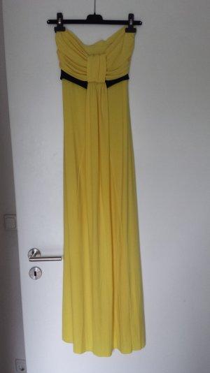 Vestido bandeau multicolor tejido mezclado