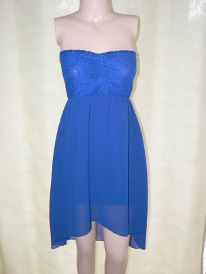 Bandeaukleid Made in Italy blau