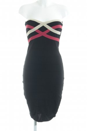 Bandeau Dress multicolored party style