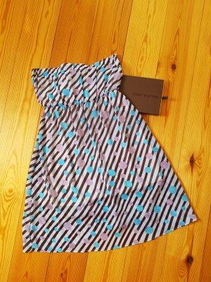 100% Fashion Bandeaujurk korenblauw