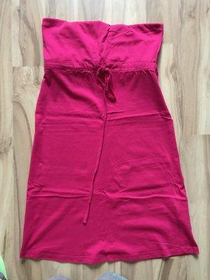 Bandeaukleid pink Kleid Größe XXS XS 32 34 wie neu