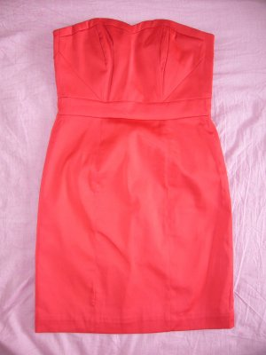 Bandeaukleid rot H&M XS 34