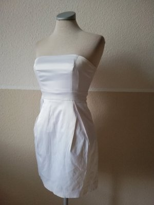 Robe bandeau blanc