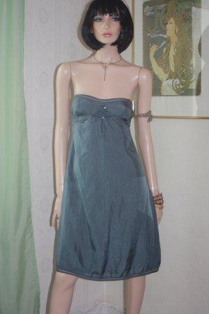 Bandeaukleid Seidenkleid Sommerkleid 38 Naf Naf