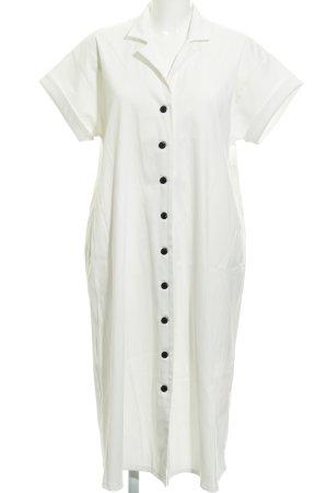 Vestido bandeau blanco puro elegante