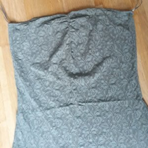 Pieces Haut bandeau gris vert-kaki