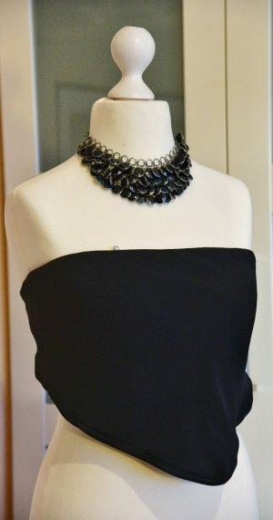 Armani Collezioni Haut en soie noir