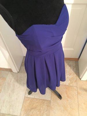 Bandeu Kleid in dunkelblau Größe 34/36
