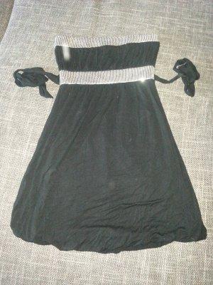 Bandeukleid schwarz Gr. 36