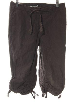 Bandolera Pantalone a 3/4 marrone-nero stile casual