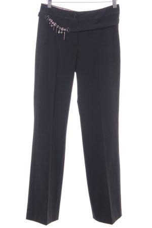 Bandolera Pantalon de costume noir style d'affaires