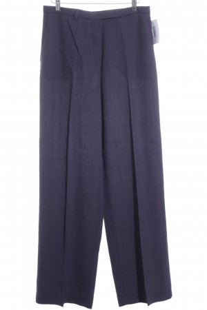 Bandolera Pleated Trousers dark violet classic style