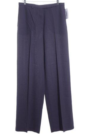 Bandolera Pantalón de pinza violeta oscuro estilo clásico