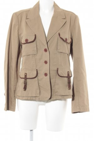 Bandolera Safari Jacket sand brown Lather elements