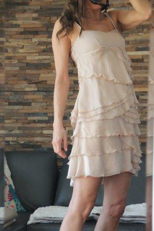 Bandolera, , Seidenkleid, Seide, Kleid, Lagenkleid, Sommerkleid, Minikleid,