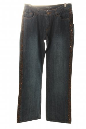Bandolera Straight Leg Jeans dark blue casual look