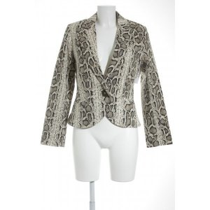 Bandolera Sweatblazer schwarz-creme Leomuster Business-Look