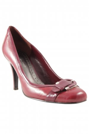 Bandolino Backless Pumps bordeaux business style