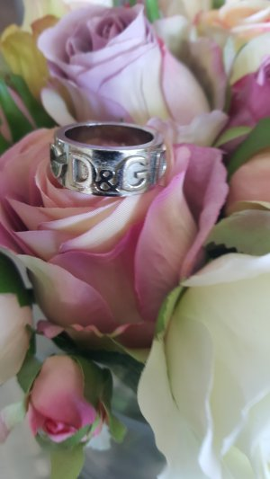Dolce & Gabbana Statement Ring silver-colored