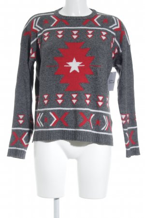 Banjo & Matilda Wollpullover grafisches Muster Casual-Look