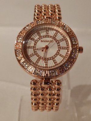 Analog Watch rose-gold-coloured-white
