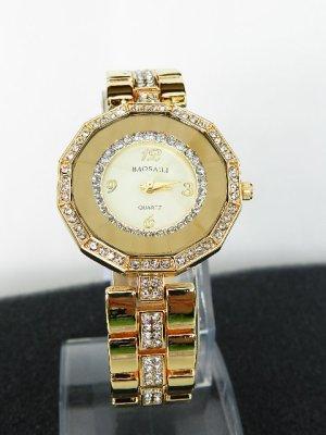 BAOSAILI Frauen Luxus Uhr Damen Armbanduhren Strassbesatz -NEU