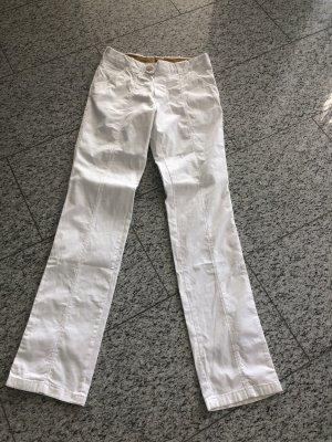 BARBA napoli weiße Jeanshose