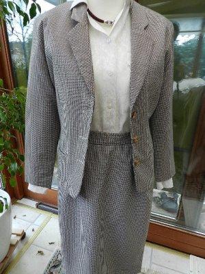 Barbara Arnold Designer Wear Damen Kostüm - kariert - Gr.36/S  - Top