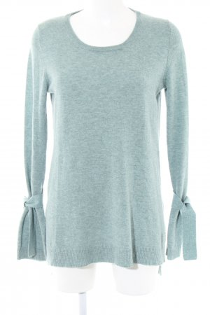 Barbara Becker Long Sweater turquoise flecked casual look