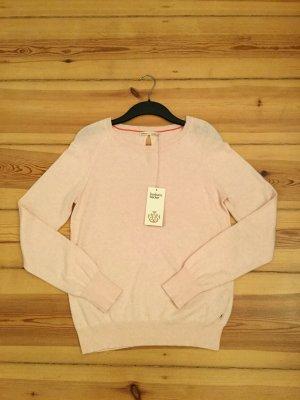Barbara Becker Kraagloze sweater rosé Katoen