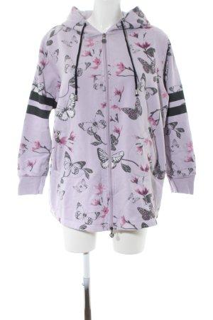 Barbara Becker Sweat Jacket animal pattern casual look