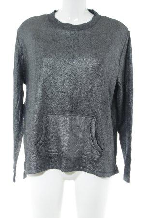 Barbara Becker Sweatshirt gris clair style mouillé