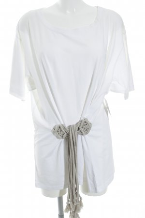 Barbara Bui Shortsleeve Dress white beach look
