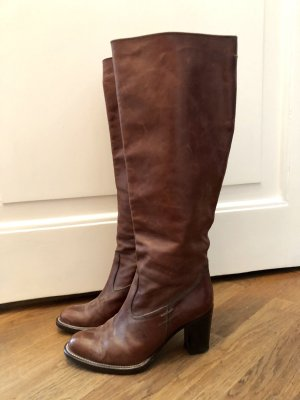 Barbara Bui Jackboots brown-cognac-coloured