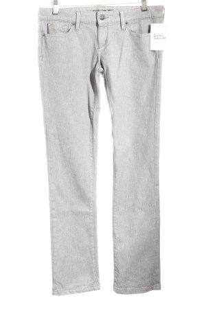 Barbara Bui Slim Jeans hellgrau klassischer Stil