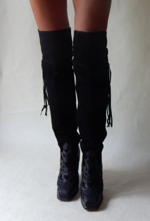 Barbara Bui High Boots black leather