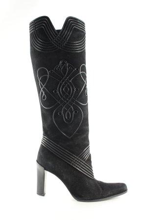 Barbara Bui Heel Boots black casual look