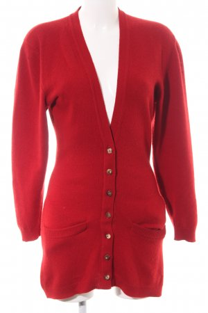 Barbara Bui Knitted Cardigan red elegant