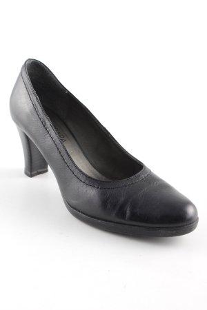 Barbara Heller High Heels schwarz Elegant