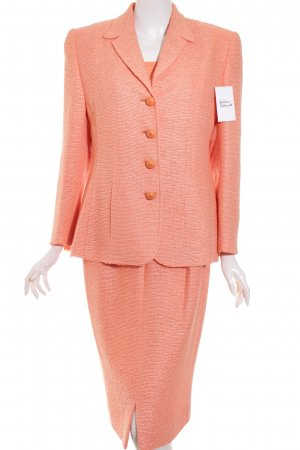 Barbara Kessels Ladies' Suit apricot retro look