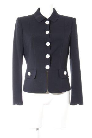 Barbara Kessels Korte blazer donkerblauw elegant