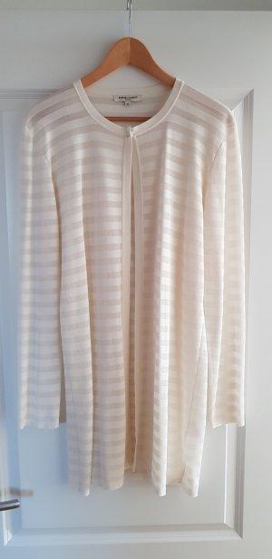 Barbara Lohmann Knitted Cardigan natural white-oatmeal