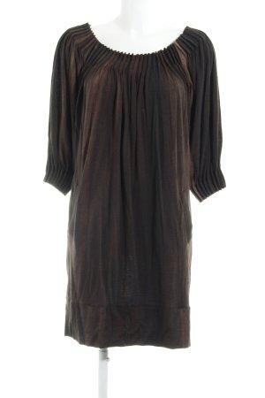 Barbara Schwarzer A-lijn jurk abstract patroon zakelijke stijl